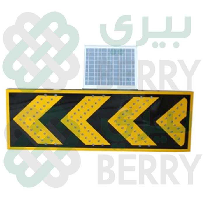 Solar Warning Light Yellow Arrows,ضوء تحذير سولر سهم اصفر