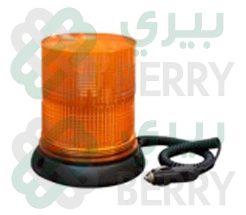 Rotating Warning Light 24V Orange Big