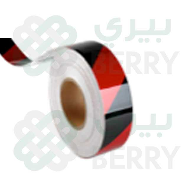 PVC Red & Black Line 5cm X 50Y